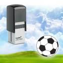 "Tampon encreur logo ""ballon de foot"" Printy 4922"
