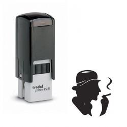 """Tampon encreur Trodat Printy 4921 """"e-cigarettes"""""""