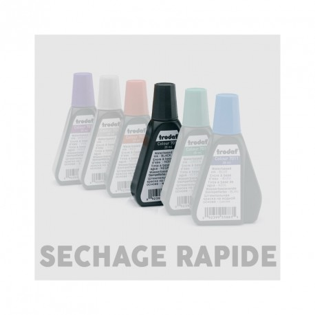 Encre à séchage rapide pour tampons automatiques - 50ml