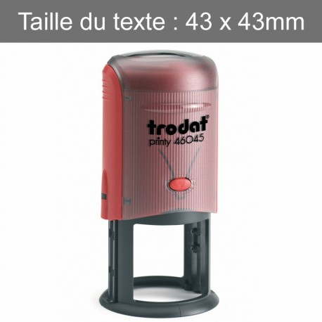 Tampon Rond Trodat 46045
