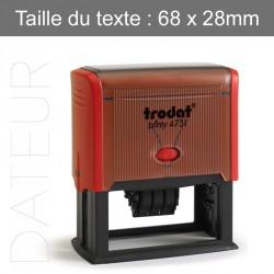 Tampon Encreur Trodat 4731