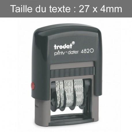 Dateur Trodat 4820