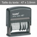 Tampon dateur Printy Dater 4817