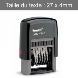 Numéroteur Trodat 4846