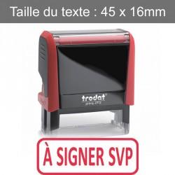 "Tampon Trodat XPrint 4912 ""à signer svp"""