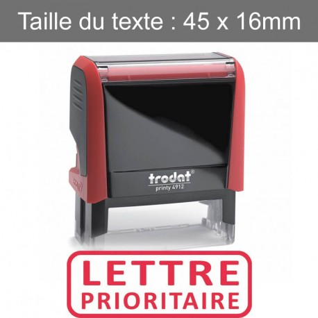 """Tampon XPrint """"lettre prioritaire"""""""
