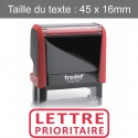 "Tampon XPrint ""lettre prioritaire"""