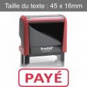 """Tampon Trodat XPrint 4912 """"payé"""""""
