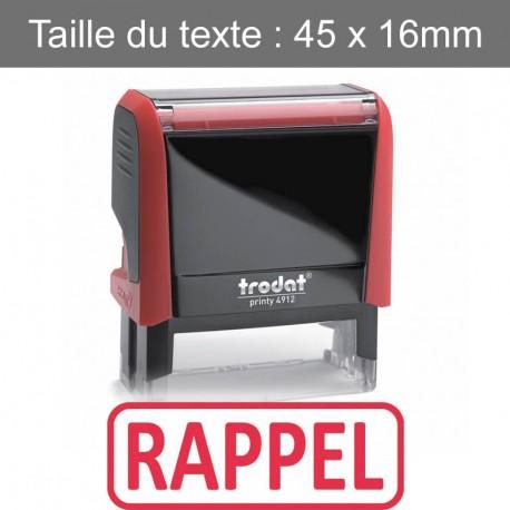 """Tampon XPrint """"rappel"""""""