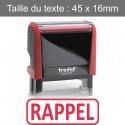 """Tampon Trodat XPrint 4912 """"rappel"""""""
