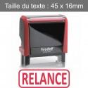 """Tampon Trodat XPrint 4912 """"relance"""""""