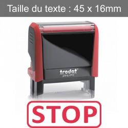 """Tampon XPrint """"stop"""""""