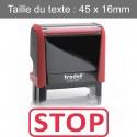 """Tampon Trodat XPrint 4912 """"stop"""""""