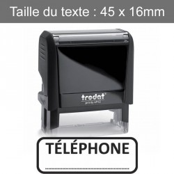 "Tampon XPrint ""téléphone ..."""
