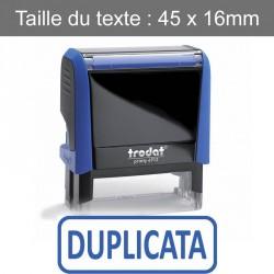 """Tampon Trodat XPrint 4912 """"duplicata"""""""