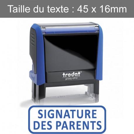 "Tampon XPrint ""signature des parents"""