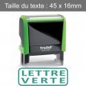 "Tampon Trodat XPrint 4912 ""lettre verte"""