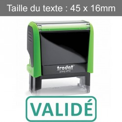 "Tampon Trodat XPrint 4912 ""validé"""