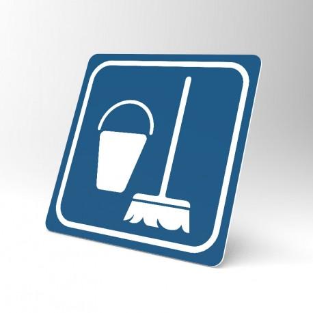 Plaque signalétique carrée : Entretien