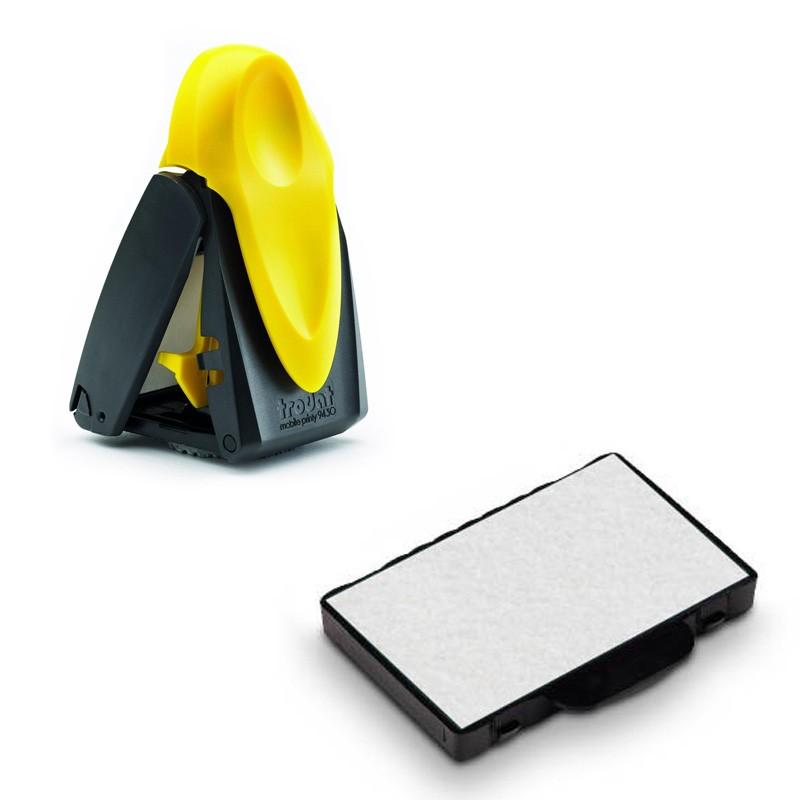 recharge d 39 encre pour les tampons nomades de type mobile printy 9430. Black Bedroom Furniture Sets. Home Design Ideas