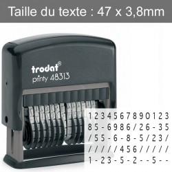 Tampon numéroteur Trodat Printy 48313