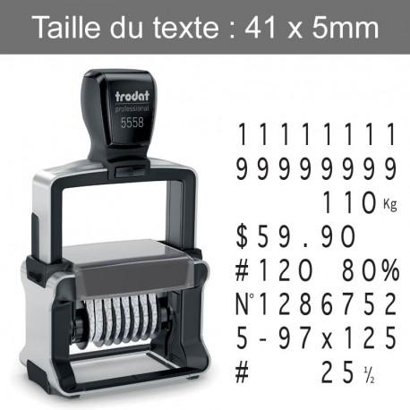 Numéroteur Trodat 5558