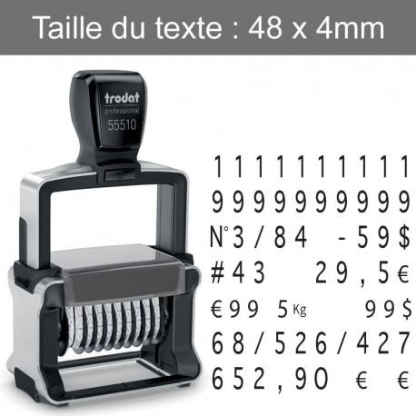 Numéroteur Trodat 55510
