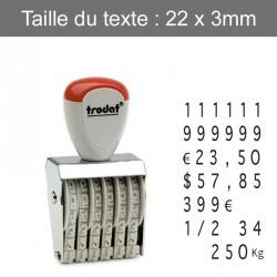 Tampon numéroteur Trodat 1536