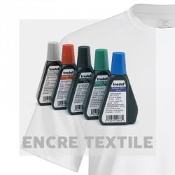 Encre textile en pipette