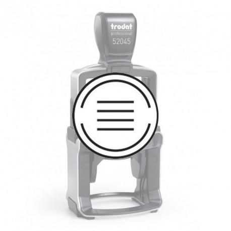 Empreinte pour Trodat 52045-A