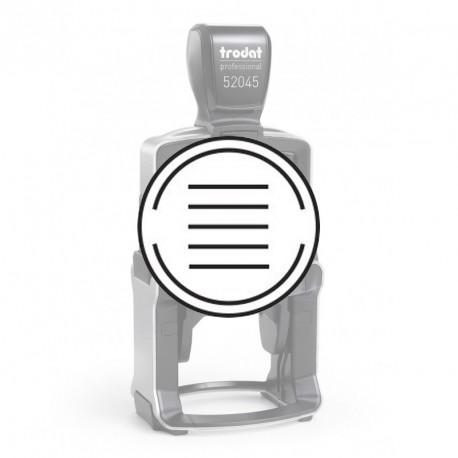 Empreinte pour Trodat 52045-B