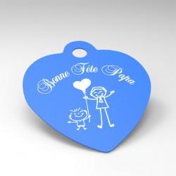 Porte-clés personnalisé : Fête des pères