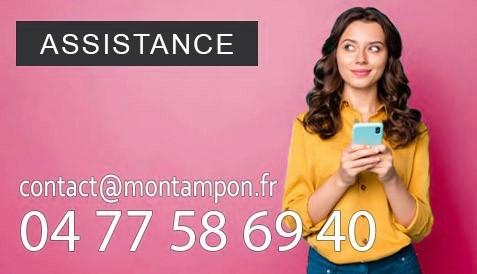 Assistance par mail ou téléphone